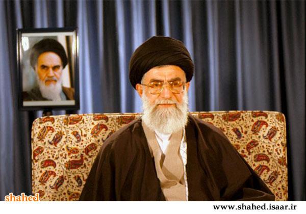 تصویری از پیام تصویری رهبری برای عید نوروز