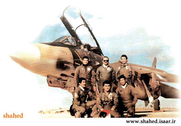 ๑۞๑ به مناسبت سالروز شهادت ؛ تصاويري از خلبان شهيد عباس بابايي๑۞๑