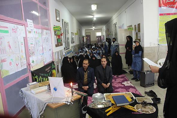 ایستگاه نقاشی بیادبود مالک اشتر رهبری